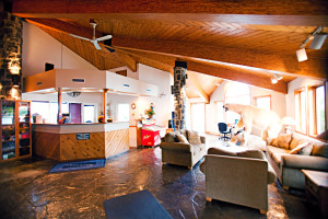 Calabogie Lodge Resort reception