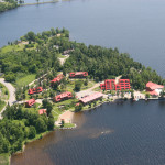 ariel view of calabogie lodge